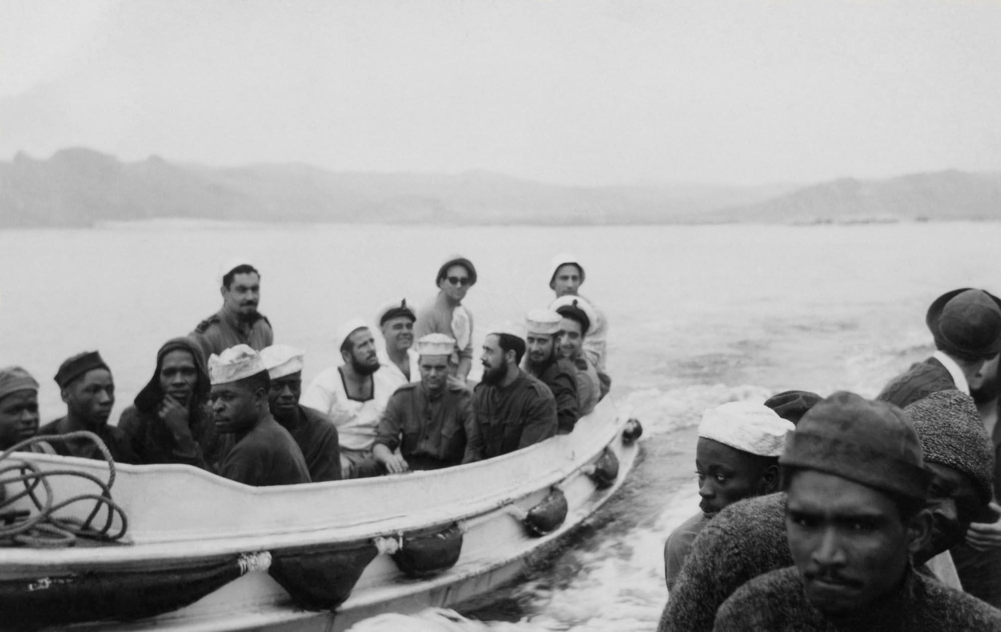 Men in Boats - circa 1960's