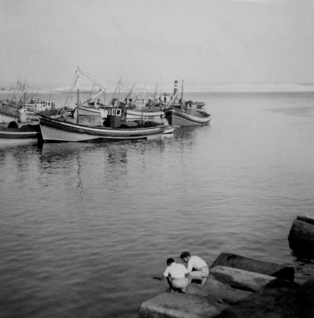 Boys, Boats and Time, Peniche, circa 1950's