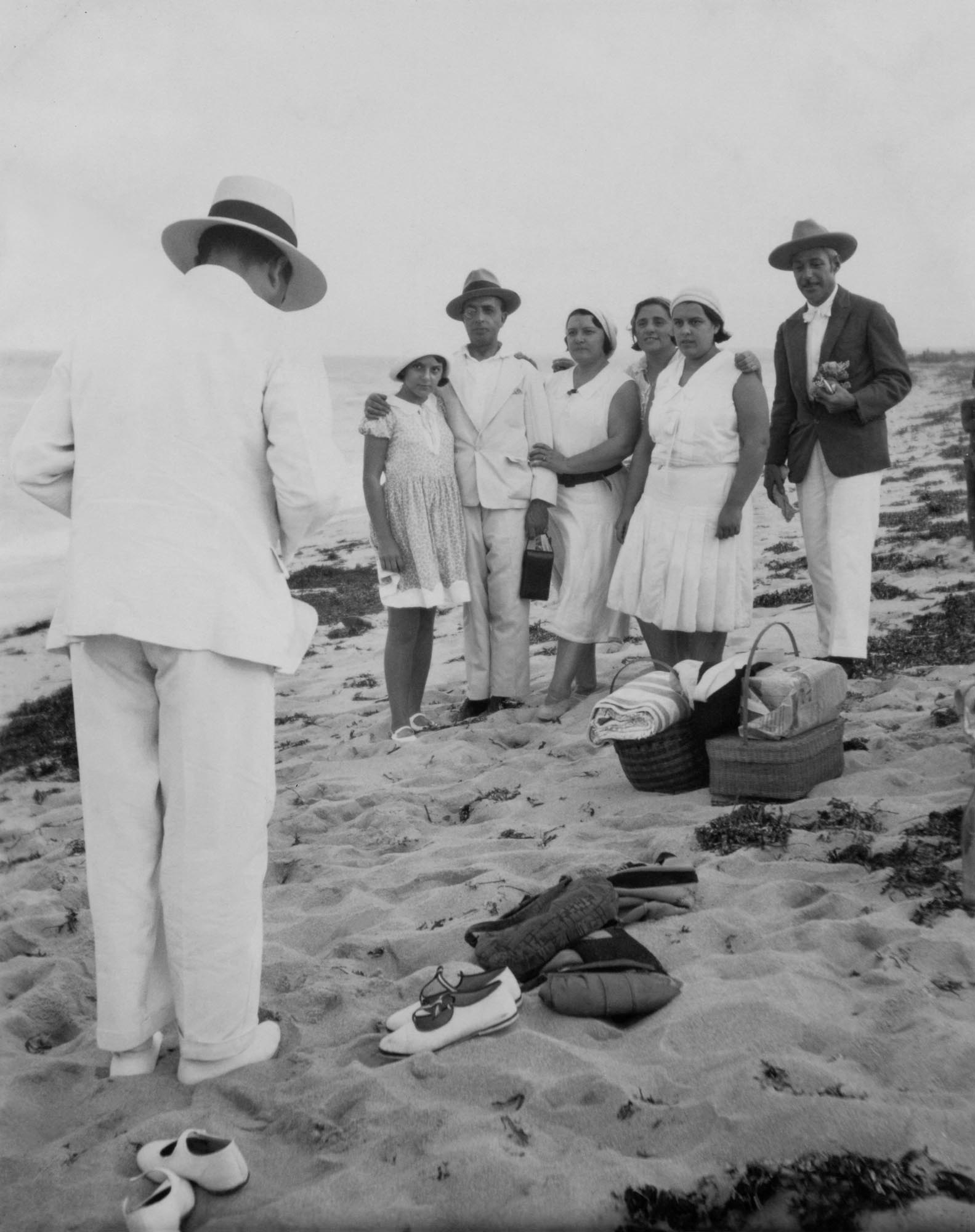 Picnic at the Beach, somewhere in Portugal, circa 1930's