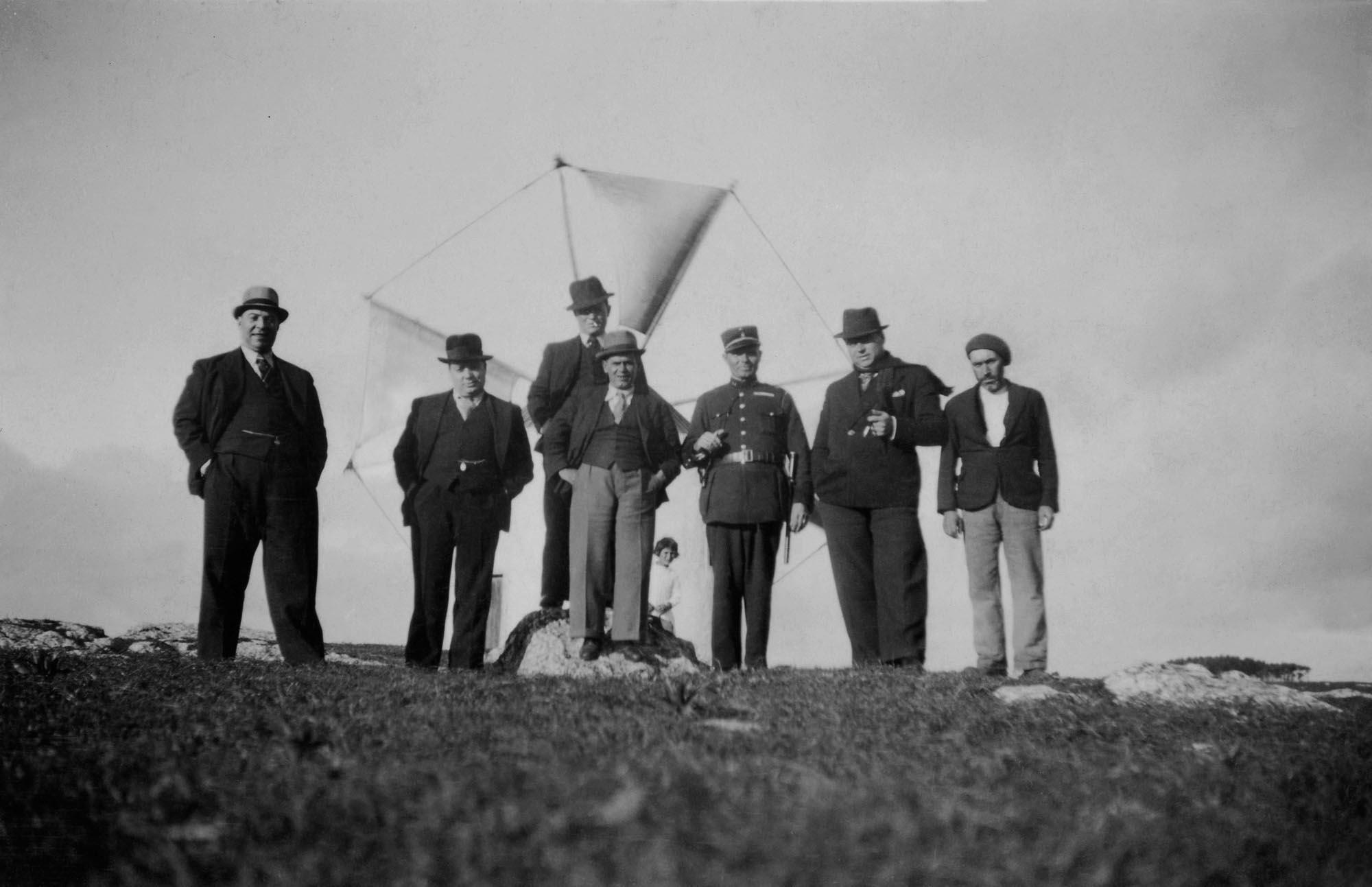 Windmill Appreciation Society, Somewhere in Portugal, circa 1930's