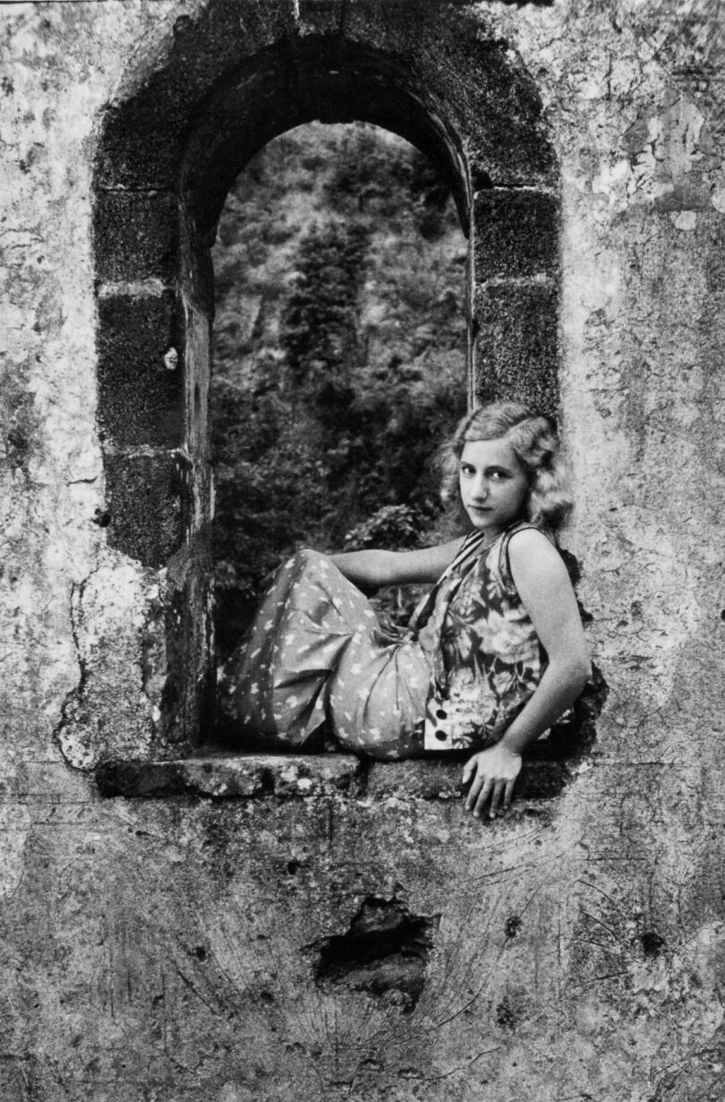 Album V: Girl In Window, Porto Santo, Madeira,1934