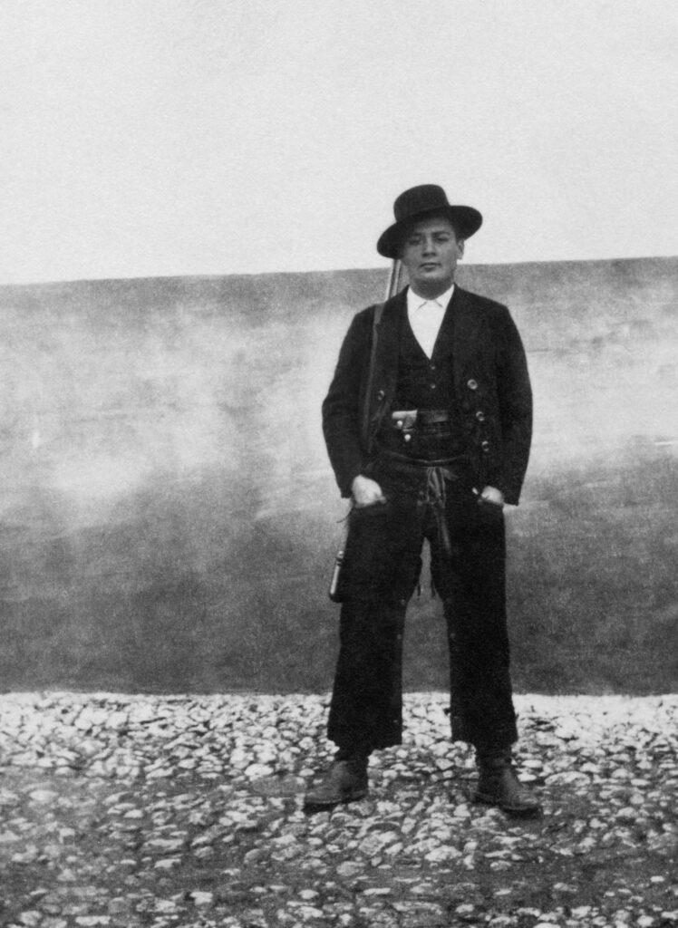 Cowboy Attitude, somewhere in Portugal, circa 1920's