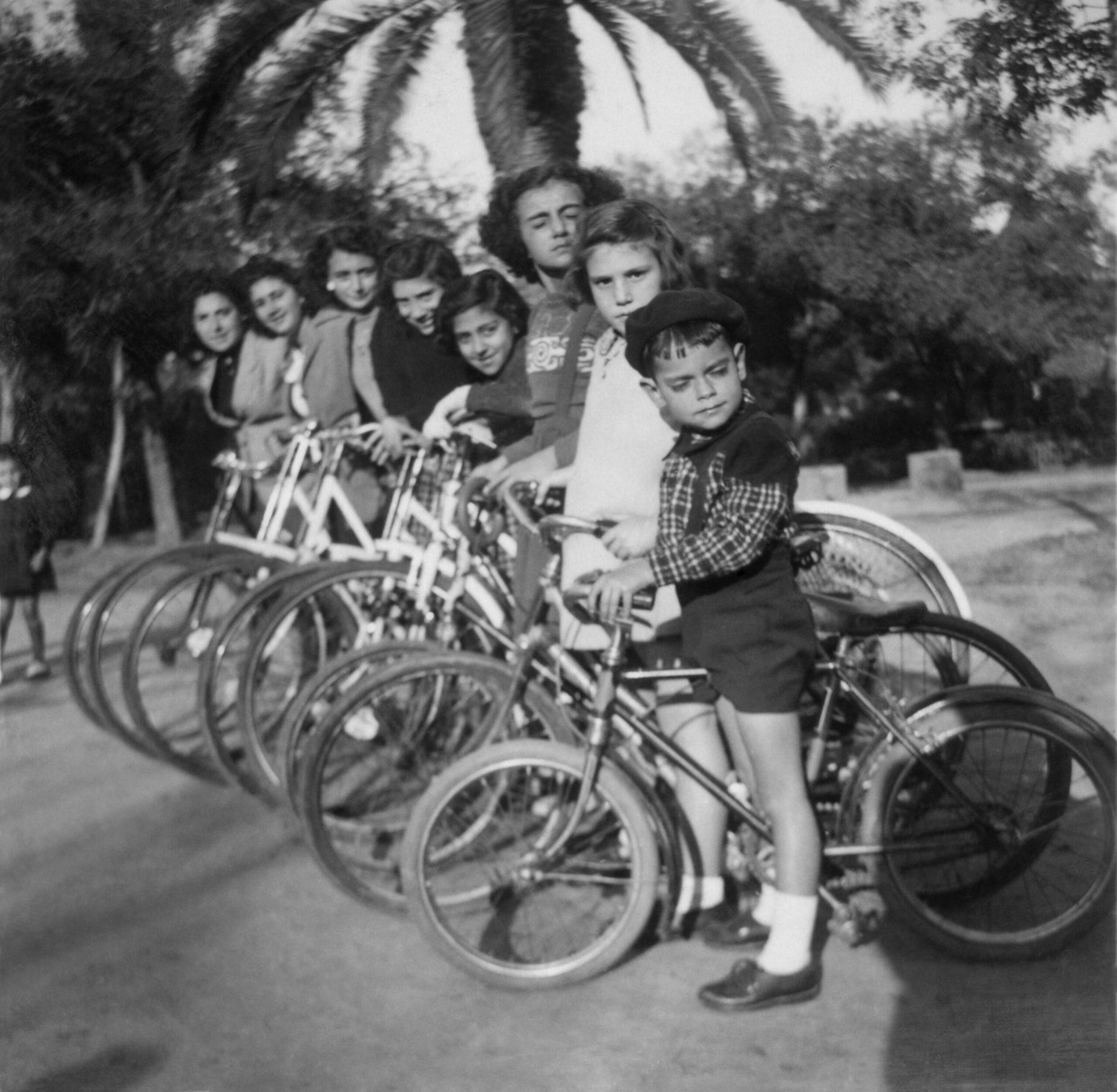 Biker Gang, Lisbon, circa 1930's