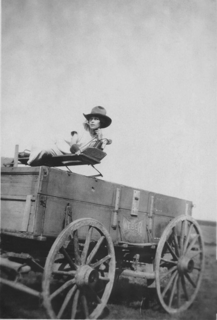 Biding My Time, somewhere in America, circa 1910